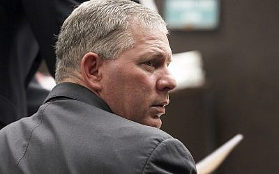 In this December 3, 2012 file photo, former Major League Baseball player Lenny Dykstra sits during his sentencing for grand theft auto in Los Angeles. (AP Photo/Nick Ut, File)