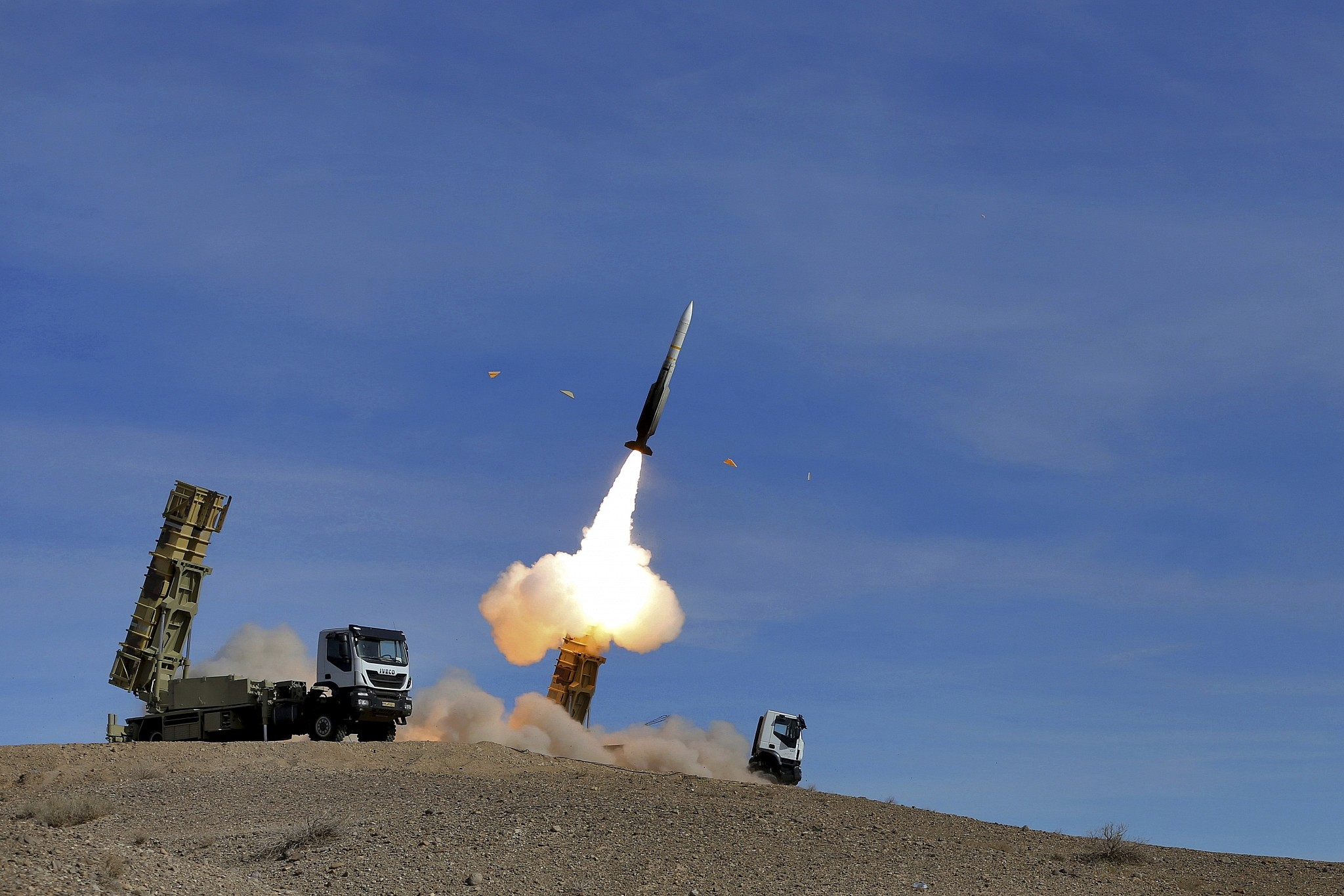 Iran FIRES ballistic missile capable of carrying multiple warheads