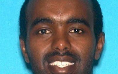 This undated photo released by the Los Angeles Police Department shows Mohamed Abdi Mohamed. (Los Angeles Police Department via AP)