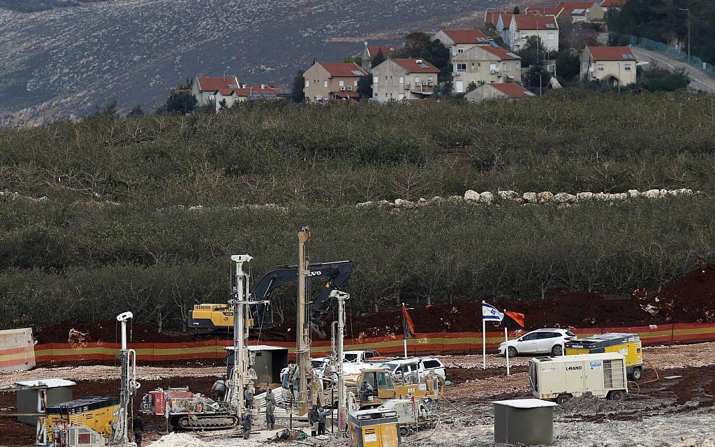 Lebanese wary as Israel destroys Hezbollah border tunnels
