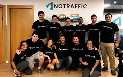 The NoTraffic team (Courtesy)