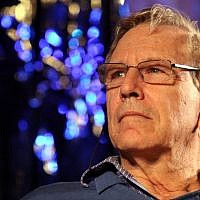Amos Oz takes part in the International Writers Festival in Jerusalem on May 3, 2010. (Yossi Zamir/Flash90)