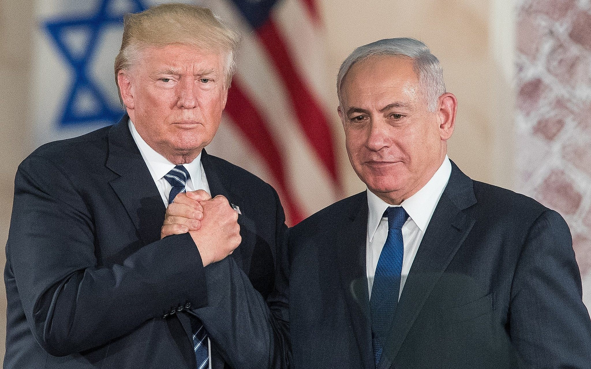 Image result for netanyahu trump