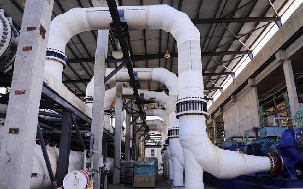 Amid US pressure, Israel taps local firm over Chinese bid for desalination plant