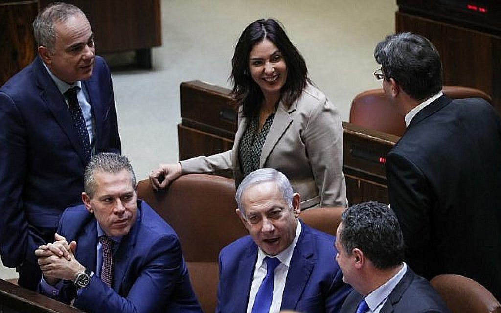 As Likud girds for possible snap primary, Regev, Katz line up behind Netanyahu