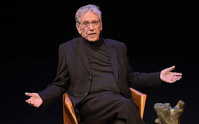 Amos Oz, shown here in 2015. (Jason Kempin/Getty Images, via JTA)