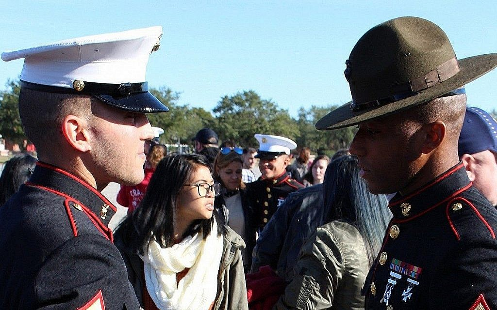 New Jewish Marine was never prouder than standing before