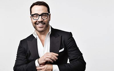 Emmy Award-winning actor Jeremy Piven tries stand-up, and will bring it to Israel on January 12 and 13, 2019 (Courtesy PR)