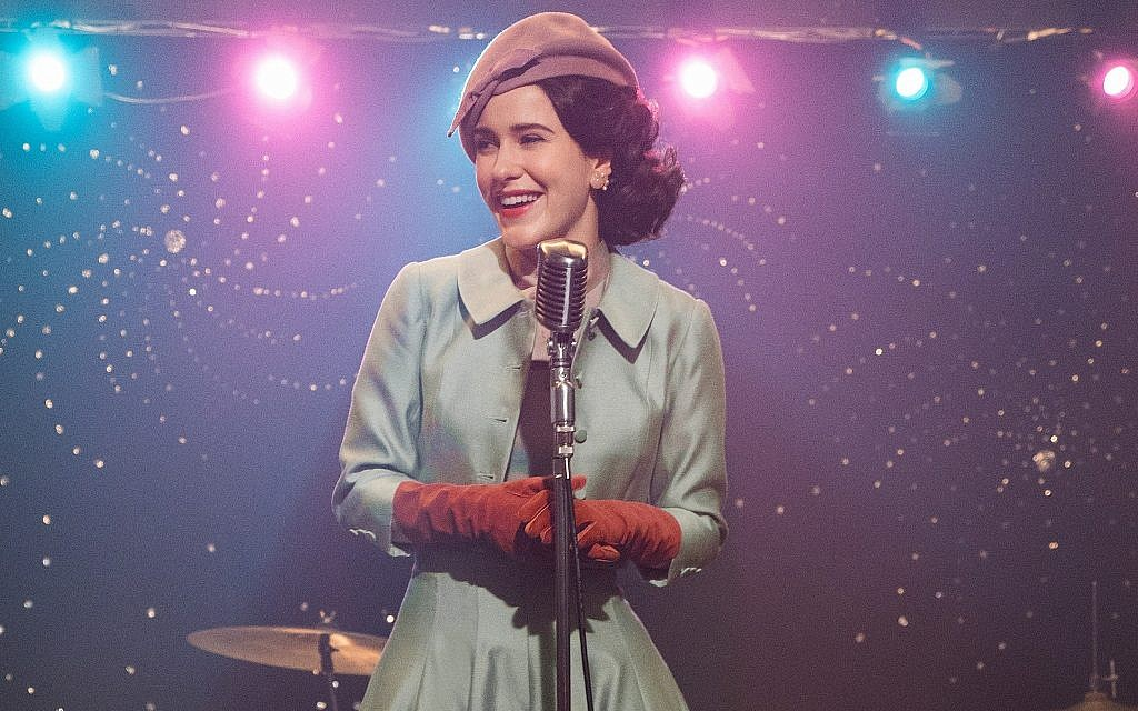 Actor Rachel Brosnahan plays Miriam 'Midge' Maisel in 'The Marvelous Mrs. Maisel,' now in its second season. (courtesy Amazon Prime)