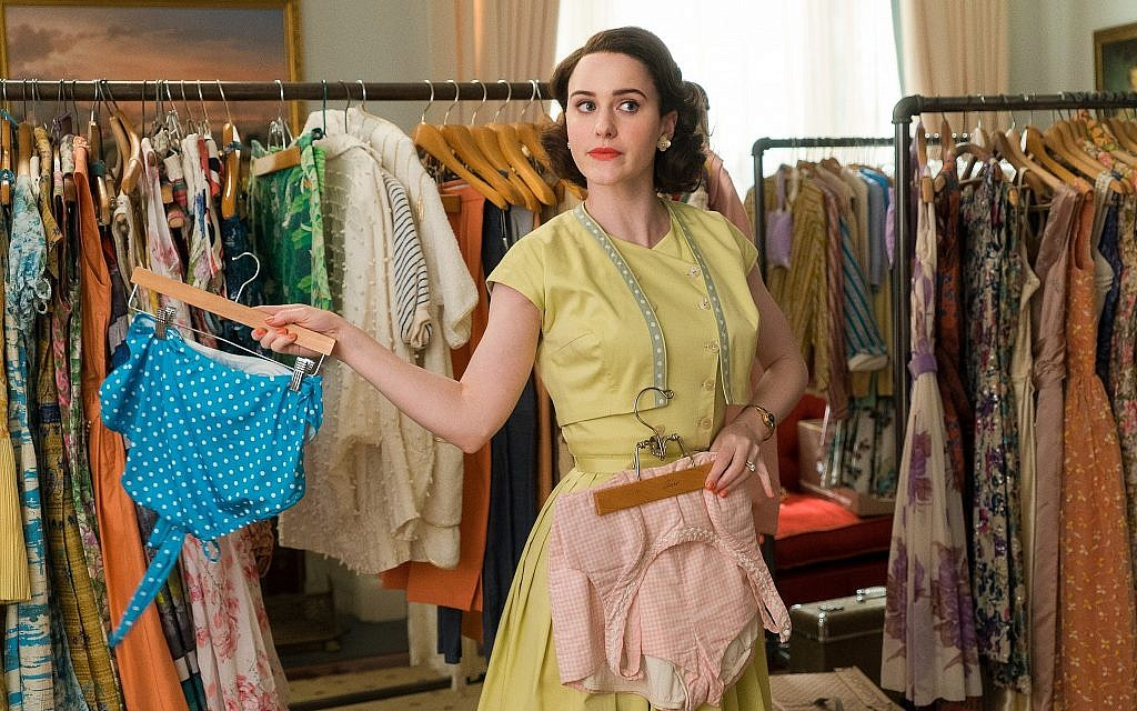 Actor Rachel Brosnahan plays Miriam 'Midge' Maisel in 'The Marvelous Mrs. Maisel,' now in its third season. (courtesy Amazon Prime)