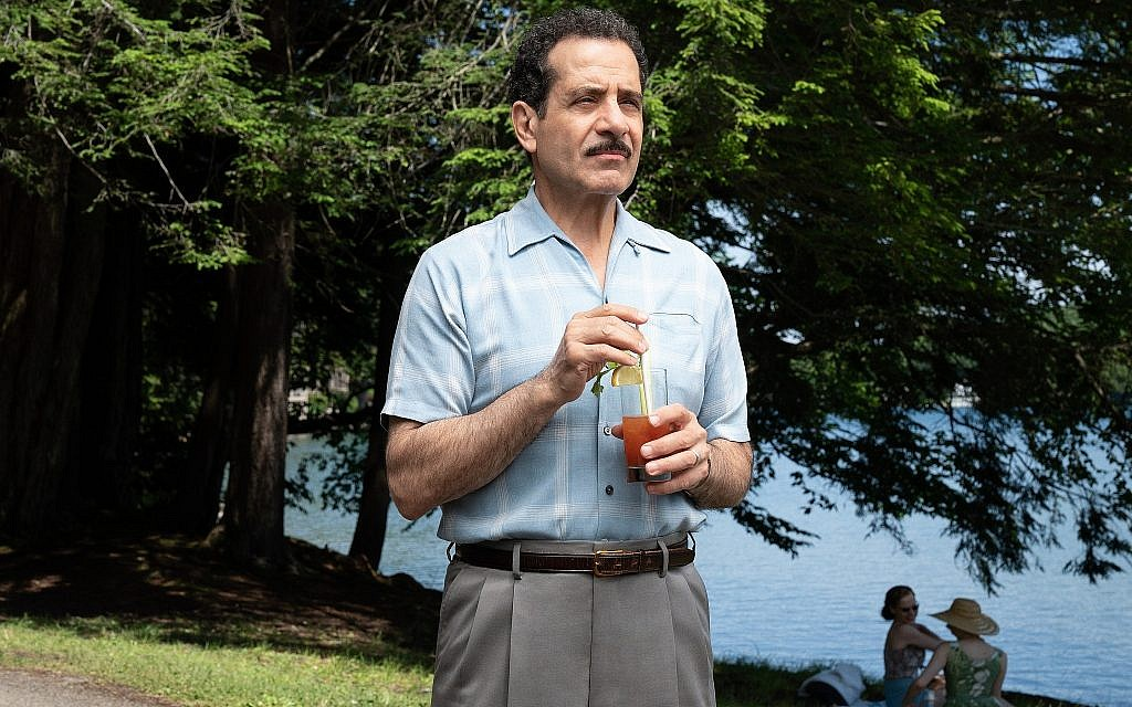 Actor Tony Shalhoub as Abe Weissman in 'The Marvelous Mrs. Maisel,' now in its second season. (courtesy Amazon Prime)