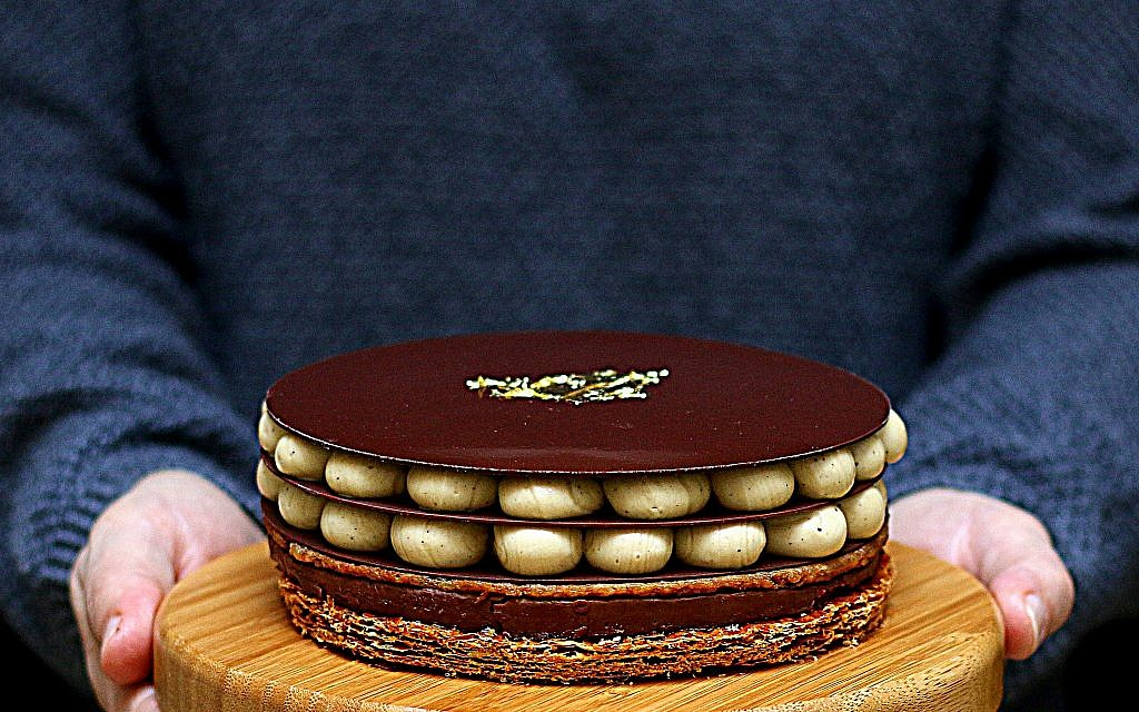 Opera a ma facon, by French pastry chef Pierre Herme. (Sharon Heinrich/Paris Chez Sharon)