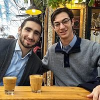 OlehStay founders Noam Beltran, left, and Joseph Sokol, right (Courtesy).