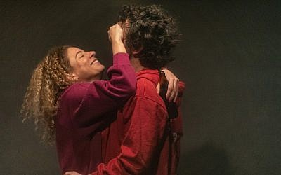 Robert Neumark-Jones as Jesse and Asha Reid as Alex in Stephen Laughton's 'One Jewish Boy.' (Courtesy)