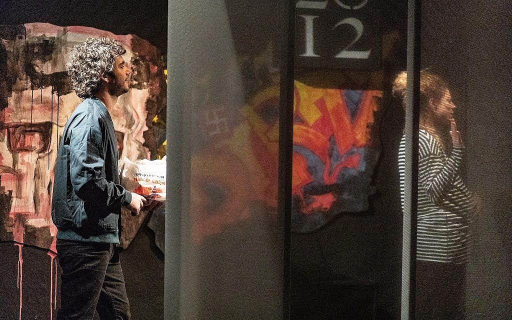 Robert Neumark-Jones as Jesse and Asha Reid as Alex in Stephen Laughton's 'One Jewish Boy.' (Courtesy)