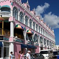 Scene from Oranjestad, the capital of Aruba. (Wikipedia/David et Magalie/CC BY)