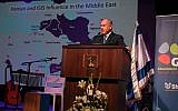 Prime Minister Benjamin Netanyahu speaks to foreign journalists in Jerusalem on December 12, 2018. (Haim Zach / GPO)