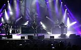 Screen capture from video of UK Pink Floyd Experience performing in Tel Aviv in 2017. (YouTube)