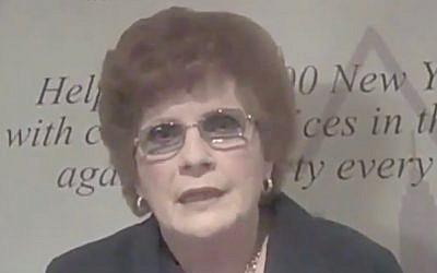 Karen Koslowitz (Screen capture: YouTube)