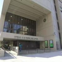 Fiorello LaGuardia High School, in New York City (Screen capture: CBS New York)