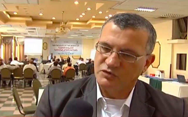 Issam Akel (Screenshot/Wattan News Agency)