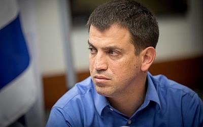 Budget director Shaul Meridor attends a press conference at the Ministry of Finance in Jerusalem on December 11, 2017. (Yonatan Sindel/Flash90)