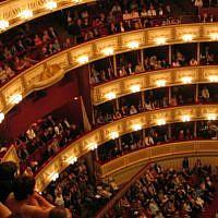 Interior of the Vienna State Opera, file (Public Domain/Wikimedia Commons)