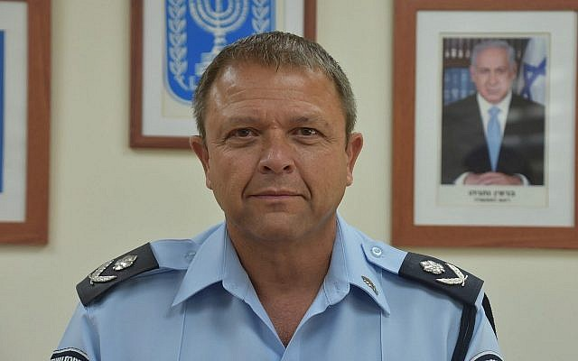 Israel Police Dep. Commissioner Motti Cohen. (Israel Police/Wikipedia/CC BY)