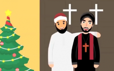 Video issued by Egyptian Fatwa Institute encourages Muslims to greet Christians for holidays (screenshot)