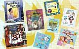 These new Hanukkah books will light up children's imaginations. (Collage by Lior Zaltzman/JTA)