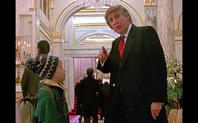 Donald Trump in Home Alone 2 (screenshot)