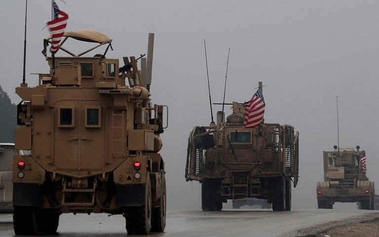US Military Official Says Troop Withdrawal From Syria Has Begun