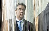 In this file photo taken on December 12, 2018 US President Donald Trump's former attorney Michael Cohen arrives at US Federal Court in New York. (COREY SIPKIN / AFP)