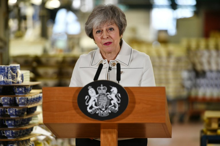Mays Brexit deal defeated by 230 votes