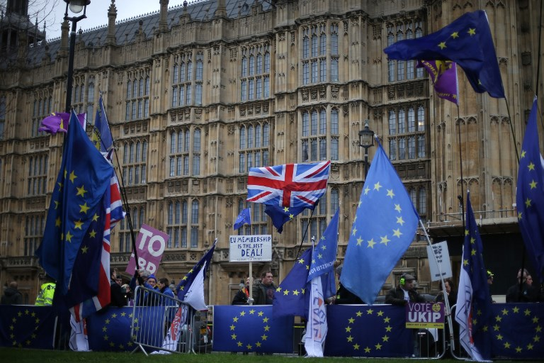 British lawmakers reject May's Brexit deal