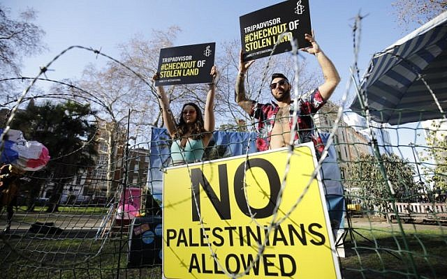 Palestinians challenge US lawsuit against Airbnb settlement policy | The Times of Israel