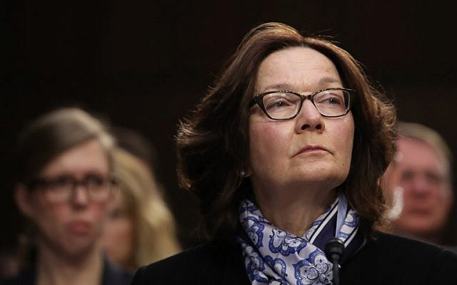 Image result for gina haspel January 29, 2019 Senate Intelligence Committee hearing