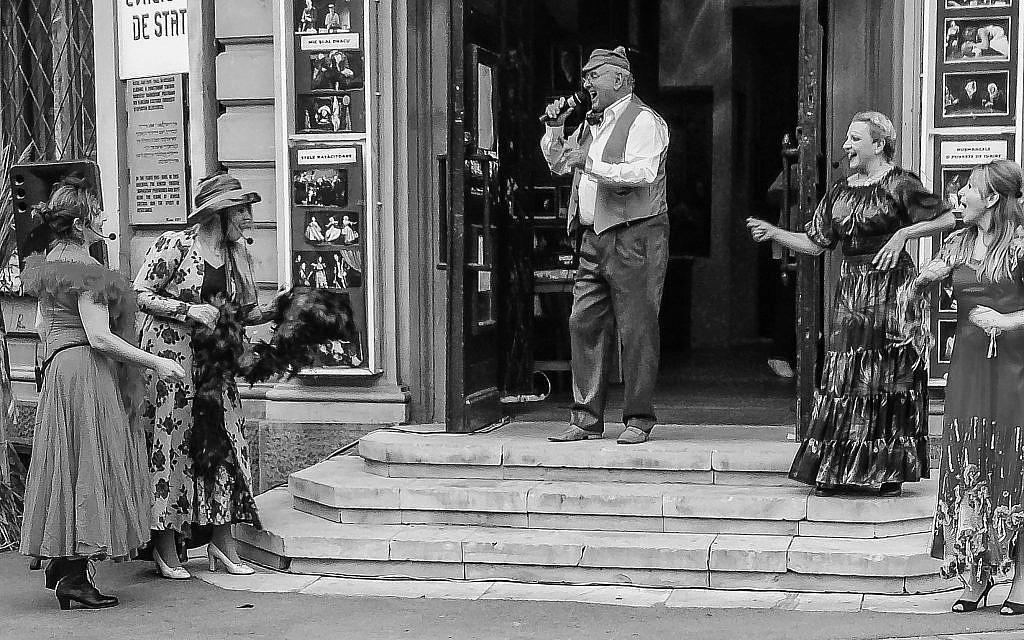 The Jewish State Theater, Bucharest, September 2013. (Courtesy Walkowitz)