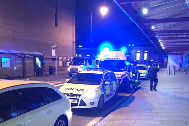 Three hurt in Manchester knife attack
