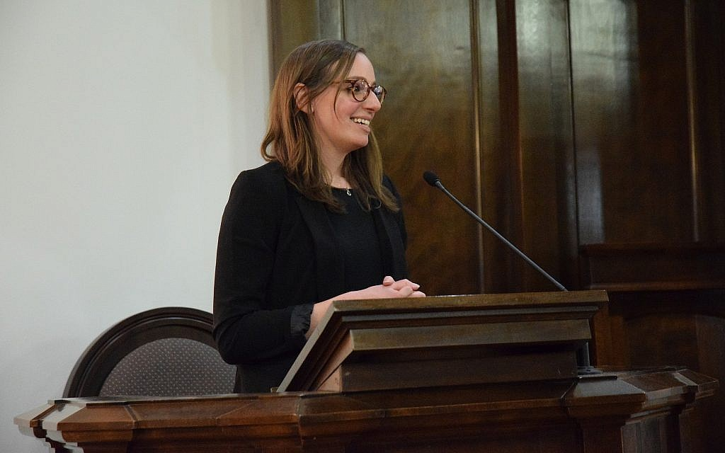 Rabbi Rachel Rubenstein is trying to engage young families in her role as executive director of the Jewish Federation of Greater Orange County, New York. (Gail Conklin for the Jewish Federation of Greater Orange County/via JTA)