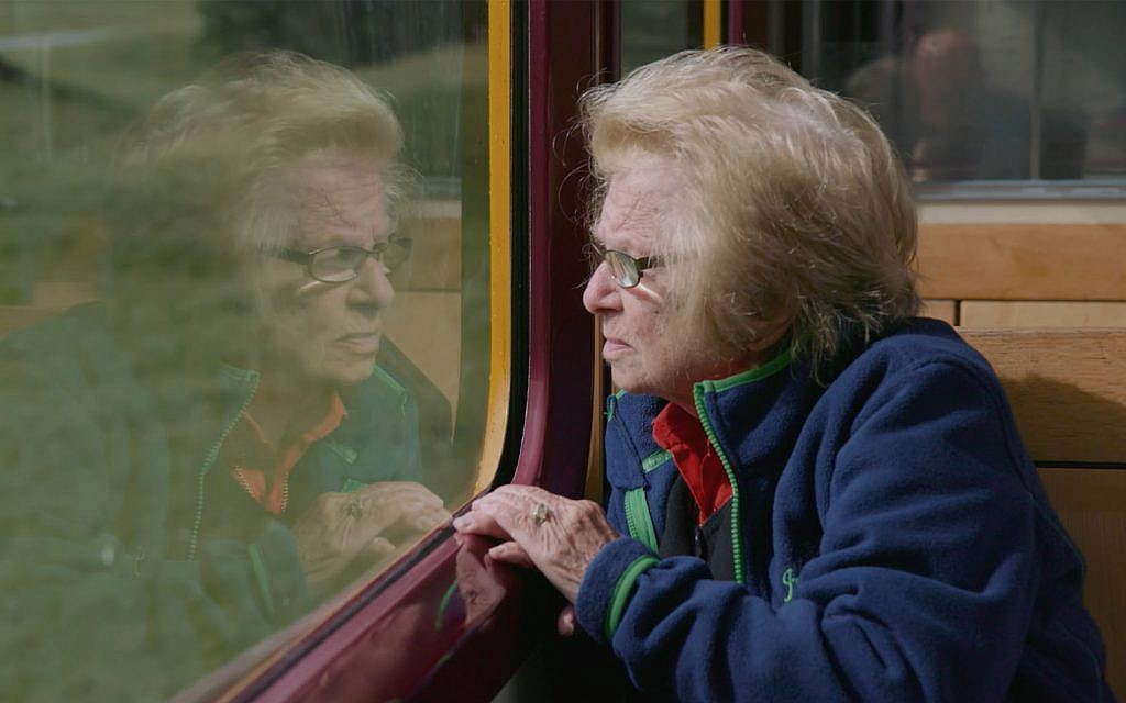 A still of Dr. Ruth Westheimer from the film 'Ask Dr. Ruth.' (Courtesy of Sundance Institute/ photo by David Paul Jacobson)