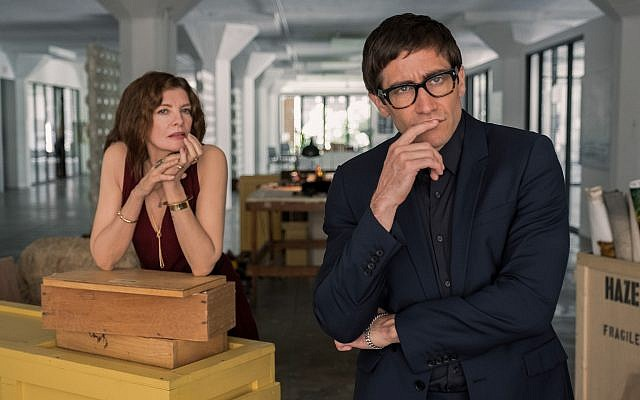 Rene Russo and Jake Gyllenhaal appear in 'Velvet Buzzsaw' by Dan Gilroy. (Courtesy of Sundance Institute/ photo by Claudette Barius)