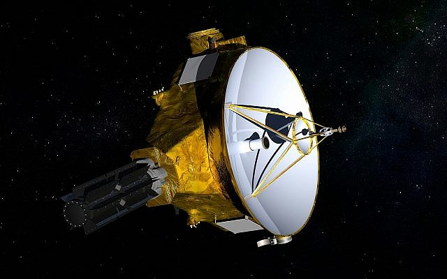 This illustration provided by NASA shows the New Horizons spacecraft. (NASA/JHUAPL/SwRI via AP)