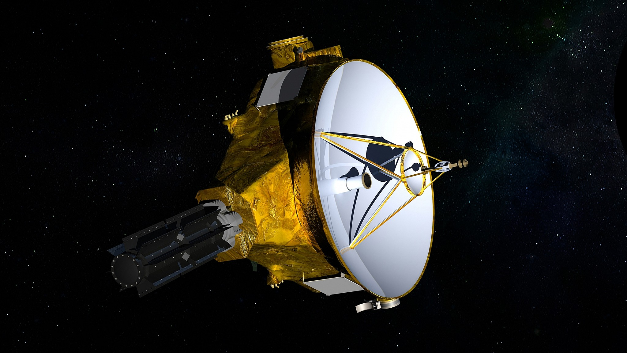 NASA craft makes most distant flyby of cosmic object