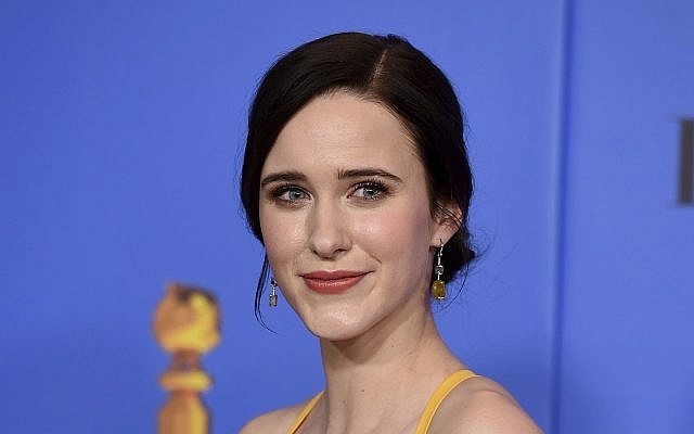 "Rachel Brosnahan poses in the press room after winning the award for best performance by an actress in a television series, musical or comedy, for ""The Marvelous Mrs. Maisel"" at the 76th annual Golden Globe Awards at the Beverly Hilton Hotel on January 6, 2019, in Beverly Hills, California. (Jordan Strauss/Invision/AP)"