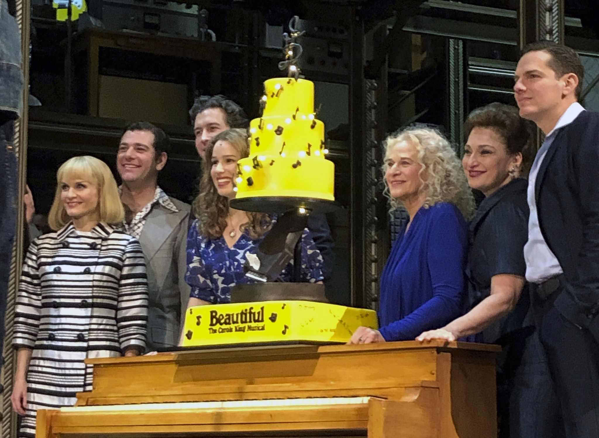 Carole King shows up as herself in Broadway bio | The Times