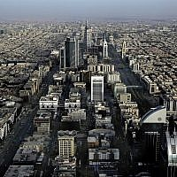 This June 23, 2018, photo shows a general view of Riyadh, Saudi Arabia. (AP Photo/Nariman El-Mofty)