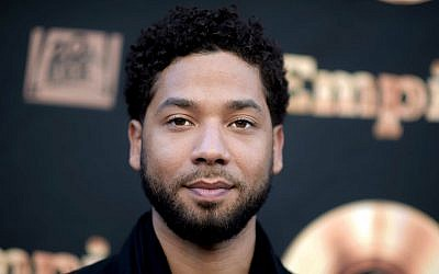 In this photo from May 20, 2016, actor and singer Jussie Smollett attends the 'Empire' FYC Event in Los Angeles. (Richard Shotwell/Invision/AP, File)