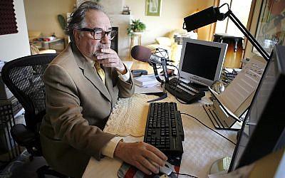 This Dec. 3, 2007 file photo shows radio talk show host Michael Savage in Tiburon, California. (AP Photo/John Storey, File)