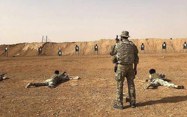 Report: US to keep troops in southern Syria as bulwark